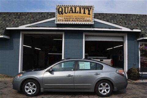 2008 Nissan Altima for sale at Quality Pre-Owned Automotive in Cuba MO