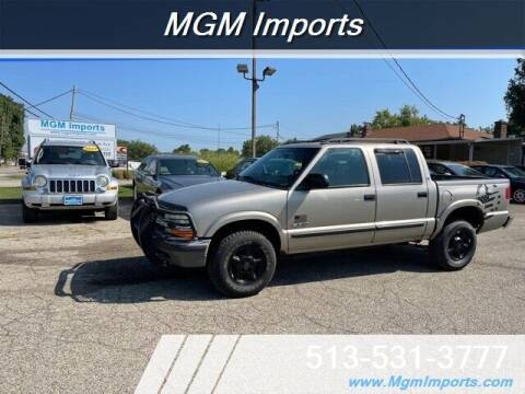 2001 Chevrolet S-10 for sale at MGM Imports in Cincinnati OH