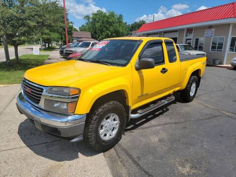 2004 GMC Canyon for sale at THE PATRIOT AUTO GROUP LLC in Elkhart IN