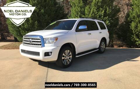 2016 Toyota Sequoia for sale at Noel Daniels Motor Company in Brandon MS