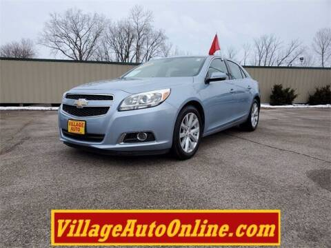 2013 Chevrolet Malibu for sale at Village Auto in Green Bay WI