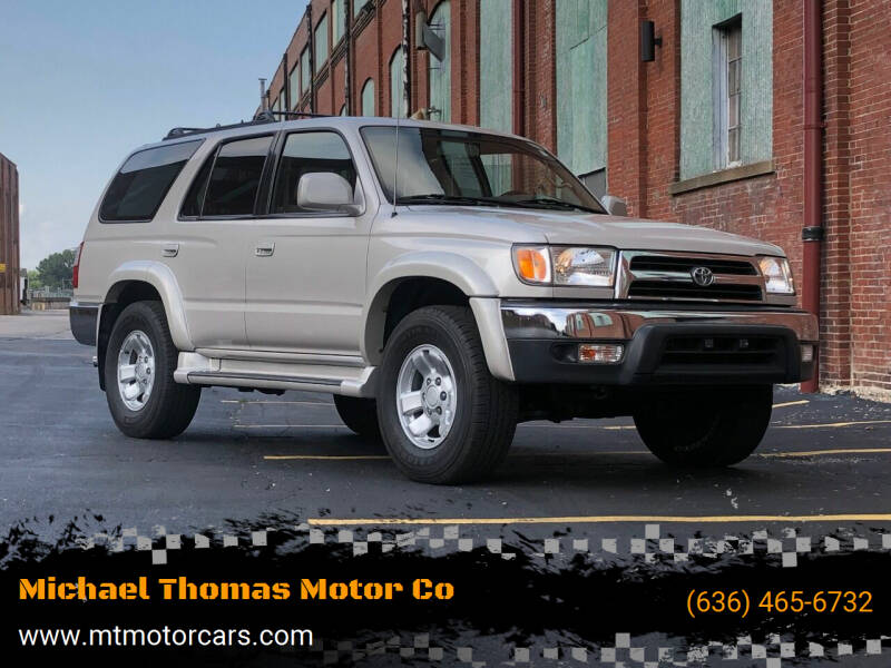 2000 Toyota 4Runner for sale at Michael Thomas Motor Co in Saint Charles MO