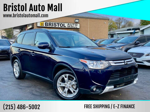 2015 Mitsubishi Outlander for sale at Bristol Auto Mall in Levittown PA