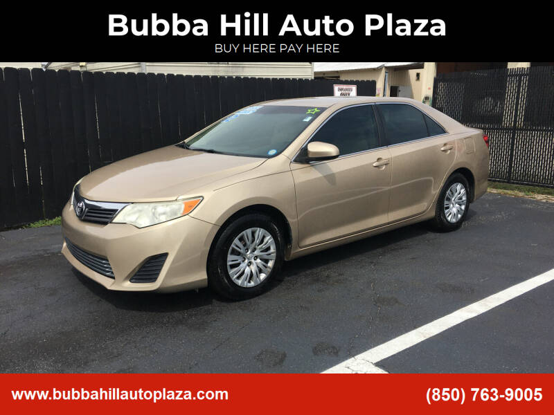 2012 Toyota Camry for sale at Bubba Hill Auto Plaza in Panama City FL