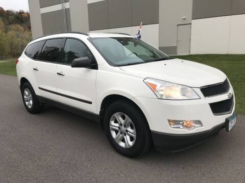 2011 Chevrolet Traverse for sale at Angies Auto Sales LLC in Newport MN