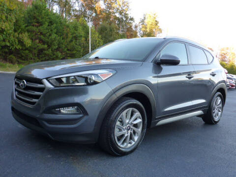 2017 Hyundai Tucson for sale at RUSTY WALLACE KIA OF KNOXVILLE in Knoxville TN