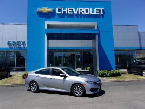 2016 Honda Civic for sale at Grey Chevrolet, Inc. in Port Orchard WA