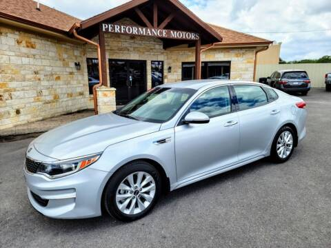 2018 Kia Optima for sale at Performance Motors Killeen Second Chance in Killeen TX