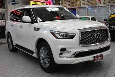 2018 Infiniti QX80 for sale at Windy City Motors in Chicago IL