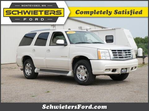 2005 Cadillac Escalade for sale at Schwieters Ford of Montevideo in Montevideo MN