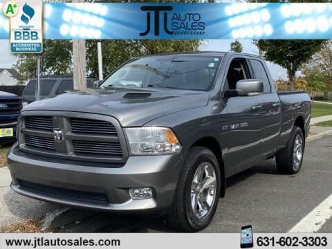 2012 RAM Ram Pickup 1500 for sale at JTL Auto Inc in Selden NY