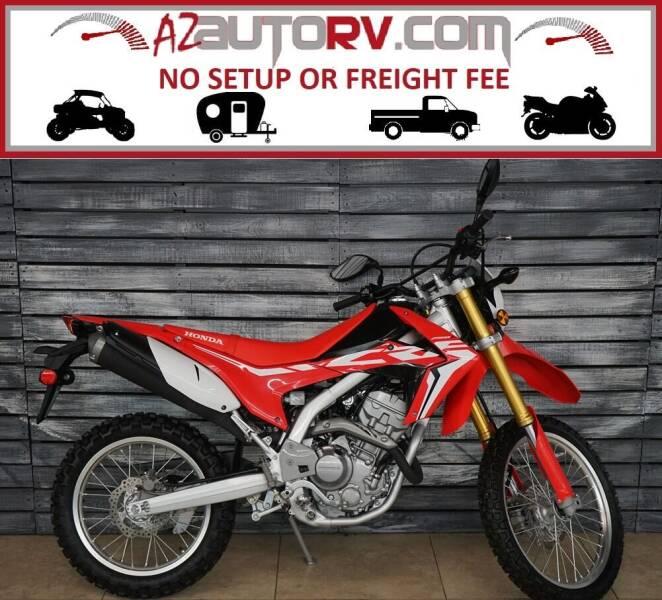 2018 Honda CRF250L for sale at AZautorv.com in Mesa AZ