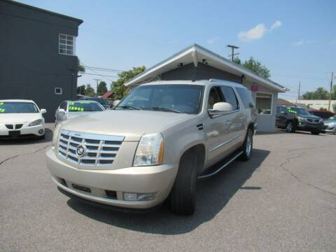 2007 Cadillac Escalade ESV for sale at Crown Auto in South Salt Lake UT