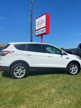 2017 Ford Escape for sale at DAVE KNAPP USED CARS in Lapeer MI