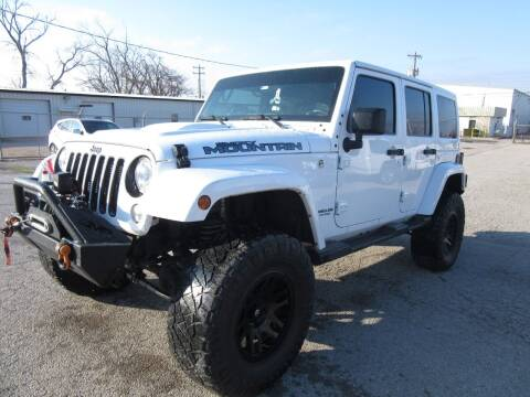 2017 Jeep Wrangler Unlimited for sale at Grays Used Cars in Oklahoma City OK