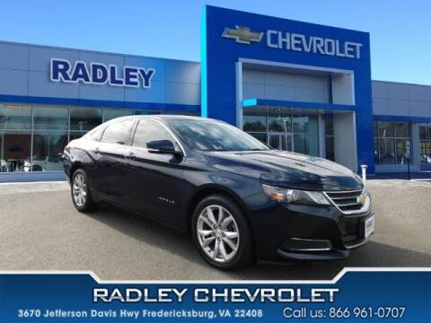 2017 Chevrolet Impala for sale at Radley Cadillac in Fredericksburg VA