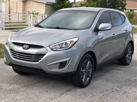 2015 Hyundai Tucson for sale at CARSTRADA in Hollywood FL