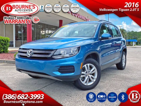2017 Volkswagen Tiguan for sale at Bourne's Auto Center in Daytona Beach FL