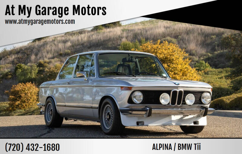 1974 BMW Tii for sale at At My Garage Motors in Denver Metro Area CO