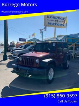 2007 Jeep Wrangler for sale at Borrego Motors in El Paso TX