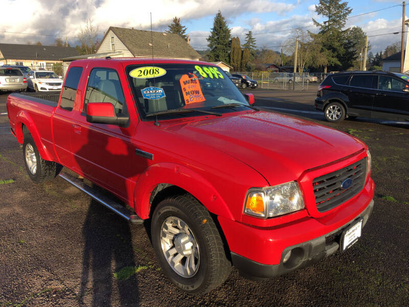 2008 Ford Ranger for sale at Freeborn Motors in Lafayette, OR