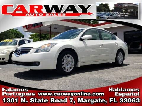 2009 Nissan Altima for sale at CARWAY Auto Sales in Margate FL