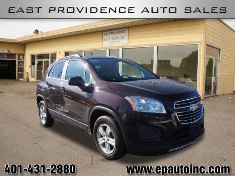2015 Chevrolet Trax for sale at East Providence Auto Sales in East Providence RI