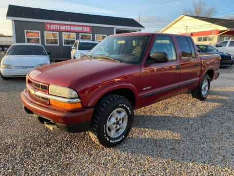 2004 Chevrolet S-10 for sale at Y City Auto Group in Zanesville OH