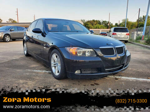 2008 BMW 3 Series for sale at Zora Motors in Houston TX