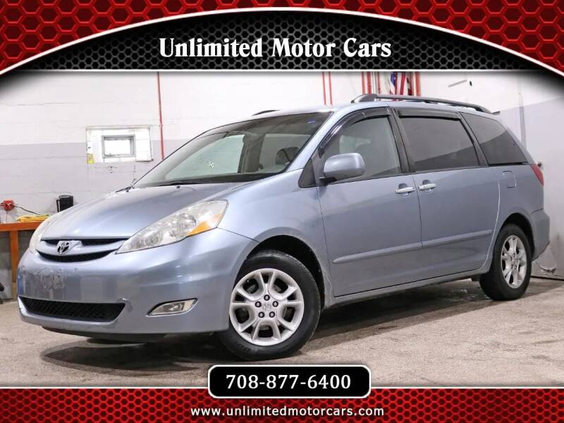 2006 Toyota Sienna for sale at Unlimited Motor Cars in Bridgeview IL
