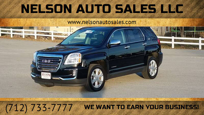 2017 GMC Terrain for sale at Nelson Auto Sales LLC in Harlan IA