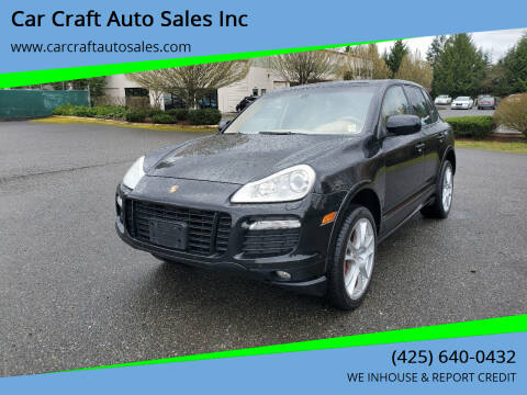 2009 Porsche Cayenne for sale at Car Craft Auto Sales Inc in Lynnwood WA