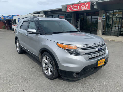 2013 Ford Explorer for sale at Freedom Auto Sales in Anchorage AK