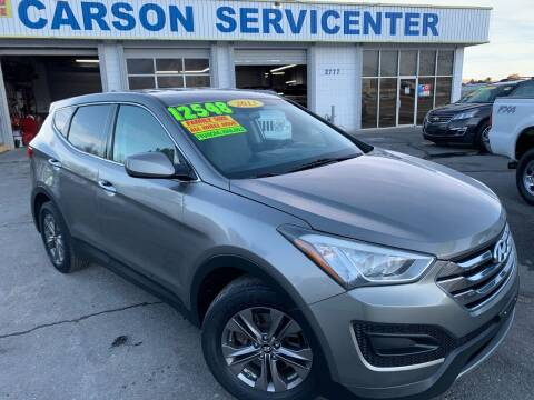 2013 Hyundai Santa Fe Sport for sale at Carson Servicenter in Carson City NV