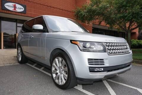 2017 Land Rover Range Rover for sale at Team One Motorcars, LLC in Marietta GA