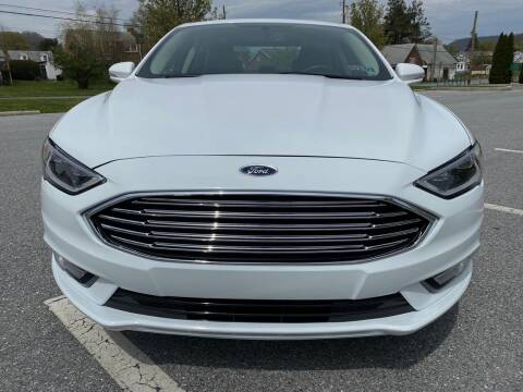 2018 Ford Fusion Hybrid for sale at YASSE'S AUTO SALES in Steelton PA