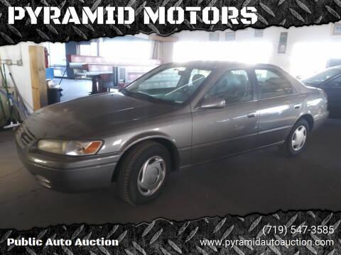 1997 Toyota Camry for sale at PYRAMID MOTORS - Pueblo Lot in Pueblo CO