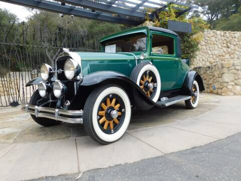 1931 Buick Model 50 Sport Coupe for sale at Milpas Motors in Santa Barbara CA