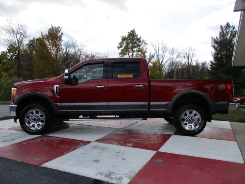 2017 Ford F-250 Super Duty for sale at TEAM ANDERSON AUTO GROUP INC - TEAM ANDERSON AUTO GROUP in Richmond IN