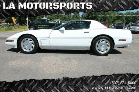 1994 Chevrolet Corvette for sale at LA MOTORSPORTS in Windom MN