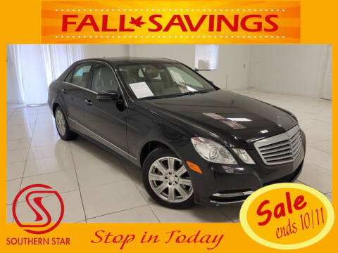 2013 Mercedes-Benz E-Class for sale at Southern Star Automotive, Inc. in Duluth GA