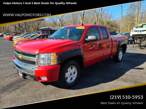 2010 Chevrolet Silverado 1500 for sale at Valpo Motors 1 and 2  Best Deals On Quality Wheels in Valparaiso IN