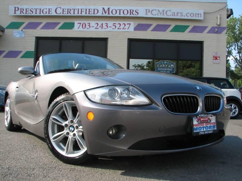 2005 BMW Z4 for sale in Falls Church, VA