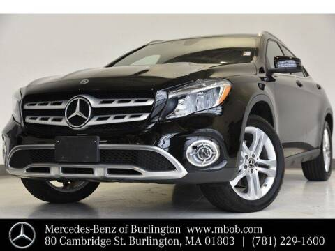 2018 Mercedes-Benz GLA for sale at Mercedes Benz of Burlington in Burlington MA