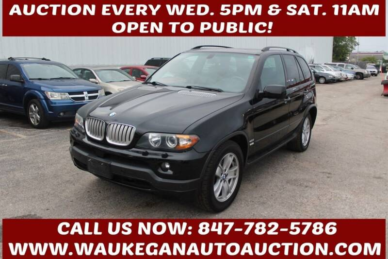 2005 BMW X5 for sale at Waukegan Auto Auction in Waukegan IL