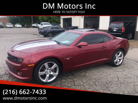 2010 Chevrolet Camaro for sale at DM Motors Inc in Maple Heights OH