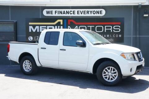 2014 Nissan Frontier for sale at Meru Motors in Hollywood FL