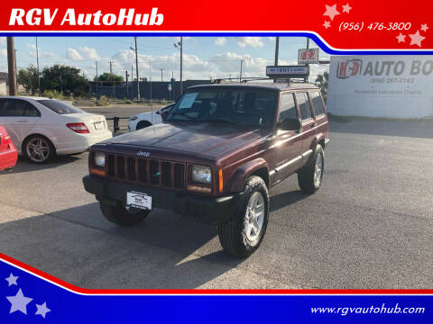 2001 Jeep Cherokee for sale at RGV AutoHub in Harlingen TX
