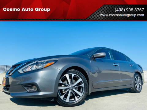 2016 Nissan Altima for sale at Cosmo Auto Group in San Jose CA