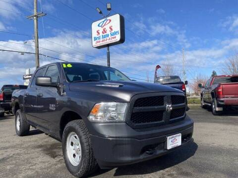 2016 RAM Ram Pickup 1500 for sale at S&S Best Auto Sales LLC in Auburn WA
